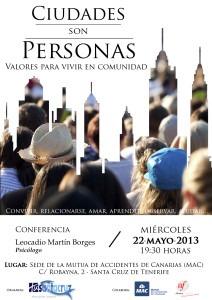 Conf. CIUDADES SON PERSONAS