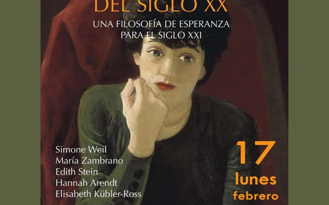 Coloquio sobre la obra: PENSADORAS DEL SIGLO XX