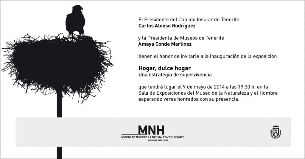 """Exposición """"HOGAR, DULCE HOGAR"""" en Museo de la Naturaleza y el Hombre, 9 de mayo"""