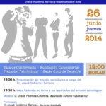 """Presentación Estudio Sociológico """"PERSPECTIVA DE FUTURO DE LOS JÓVENES DE SANTA CRUZ DE TENERIFE"""" 26 de junio"""