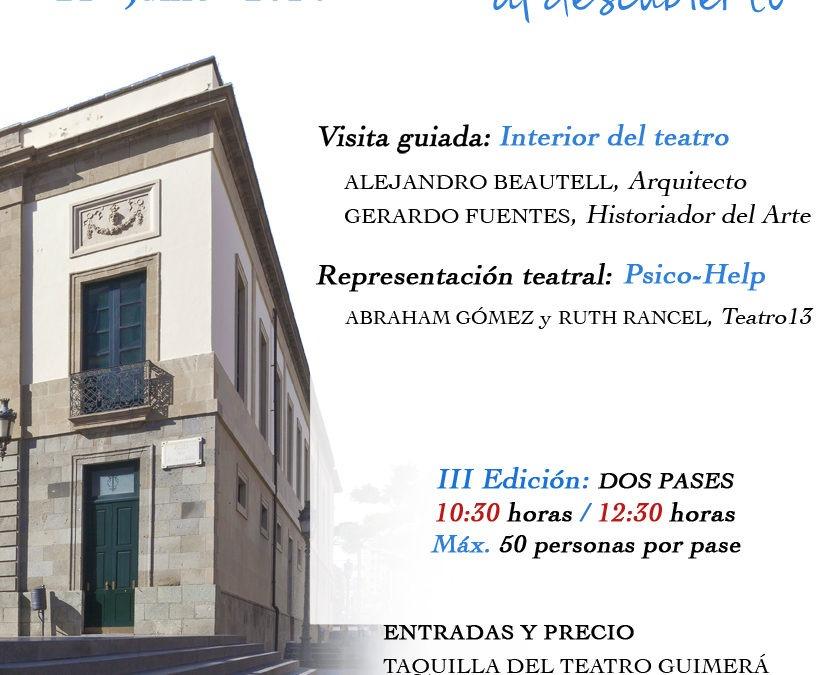 """XXXII Iti. Cul. por Santa Cruz """"EL TEATRO GUIMERÁ AL DESCUBIERTO"""", 21 de junio"""