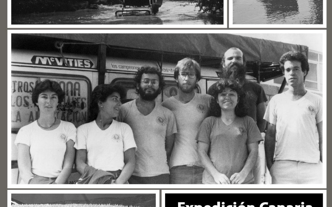 Charla sobre la EXPEDICIÓN CANARIA SUDAMÉRICA 83, por Luis Adern, 29 oct