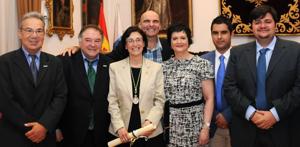 Dra. Ana María Díaz Pérez:  Académica Bellas Artes Canarias