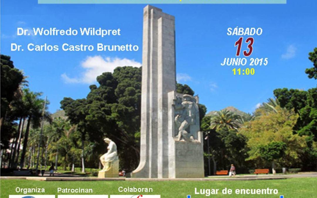 LXII Itinerario Cultural TuSantaCruz PARQUE GARCÍA SANABRIA  13 junio 2015