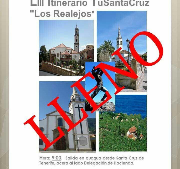 """LII Itinerario Cultural """"Los Realejos"""" 9:00 H."""