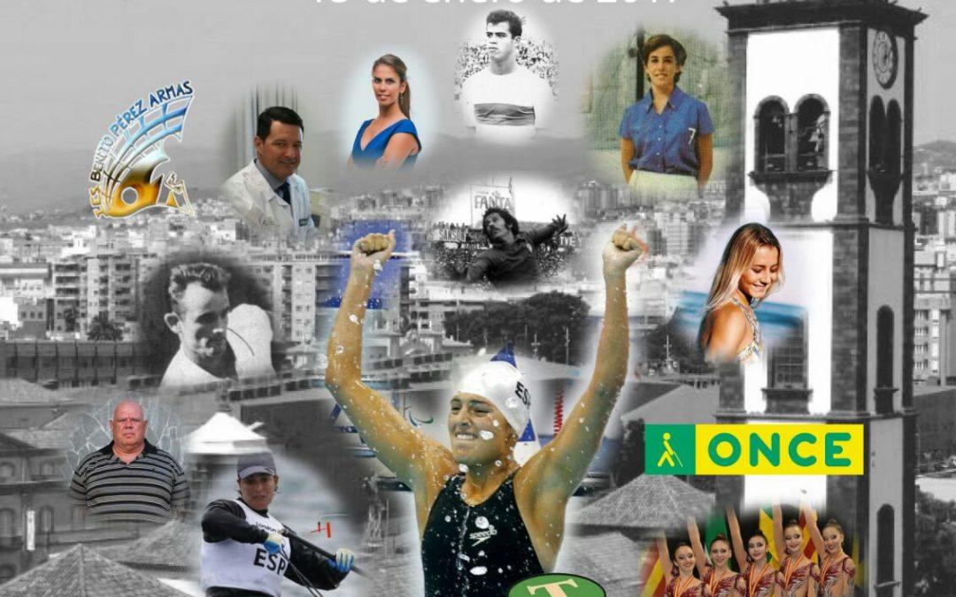 """Gala """"TuSantaCruz es Deporte"""", Viernes 13 Enero, 19H. Salón de Actos de Cajasiete."""