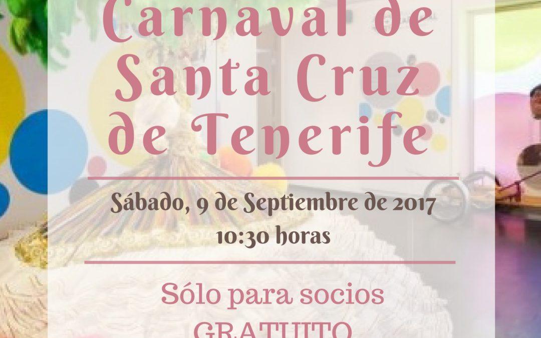 """LXII Itinerario Cultural """"Casa del Carnaval de Santa Cruz de Tenerife"""" sábado 9 de septiembre 10:30 horas Casa del Carnaval de S/C Tfe"""