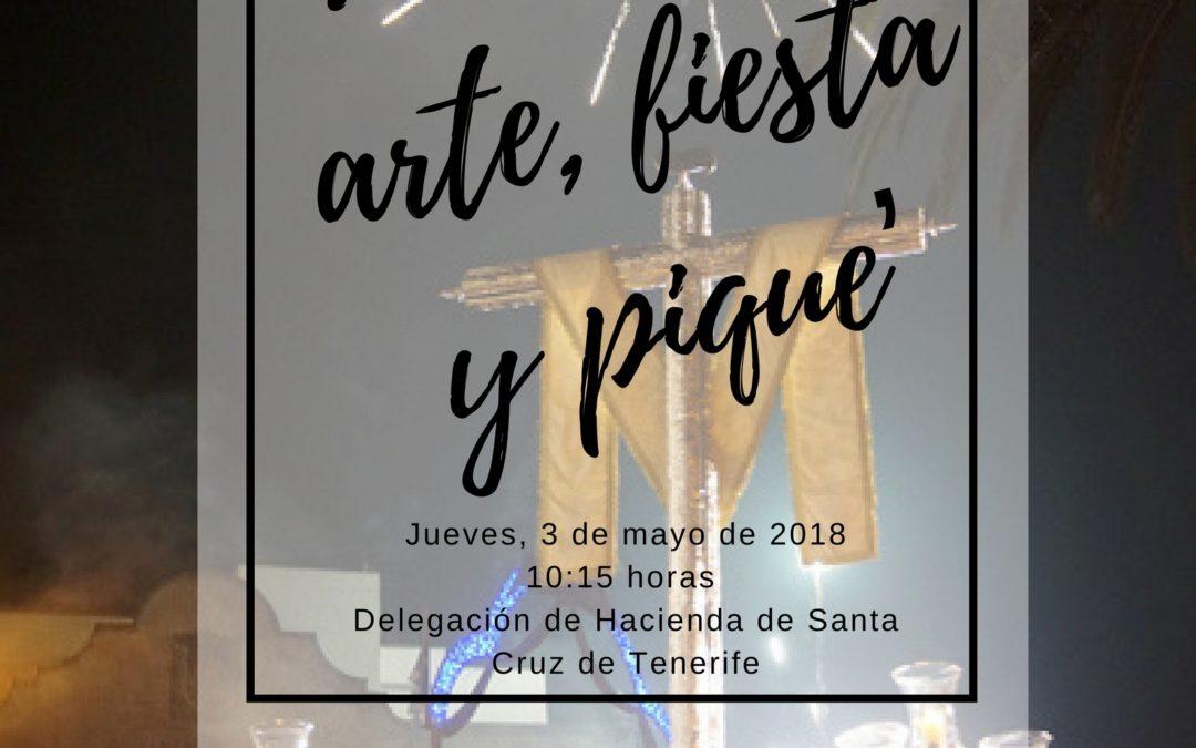 """LXXI Itinerario Cultural """"La Cruz: Arte, fiesta y pique"""", jueves 3 mayo 2018"""