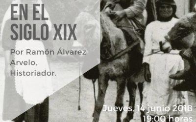 """Conferencia del historiador Ramón Álvarez Arvelo """"La mujer en Canarias en el siglo XIX"""" jueves 14 junio 19 horas MAC"""