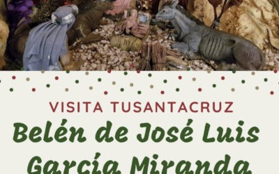Belén de José Luis García Miranda, jueves 20 de diciembre 20,30 horas calle Numancia, 18