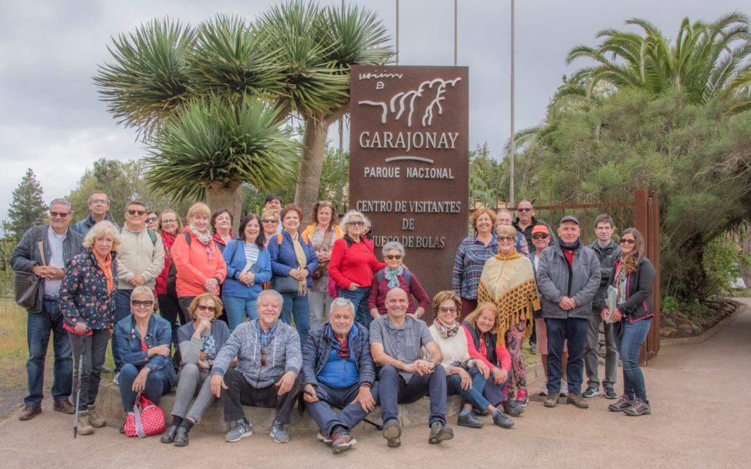 2019.03.24 LXXX Itinerario TuSantaCruz a «La Gomera», en el Parque nacional de Garajonay.