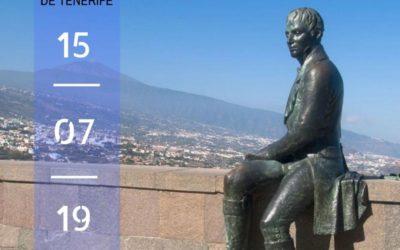 """CONFERENCIA DE D. ISIDORO SÁNCHEZ: """"ALEXANDER VON HUMBOLDT: 250 AÑOS DE SU NACIMIENTO Y 220 AÑOS DEL ASCENSO AL TEIDE"""". LUNES 15 DE JULIO DE 2019, REAL CASINO DE TENERIFE, 19:30 H."""