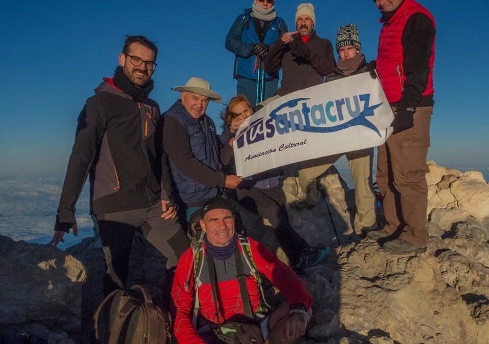 Sábado 22 de junio de 2019. Ascensión al Teide de los miembros de TuSantaCruz.