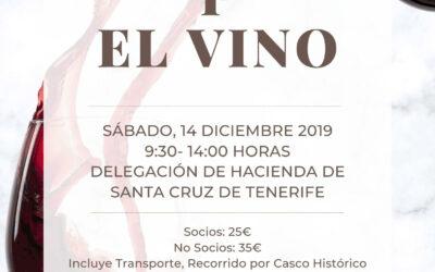 LXXXVIII Itinerario Cultural «Tegueste y el Vino» sábado 14 diciembre 2019