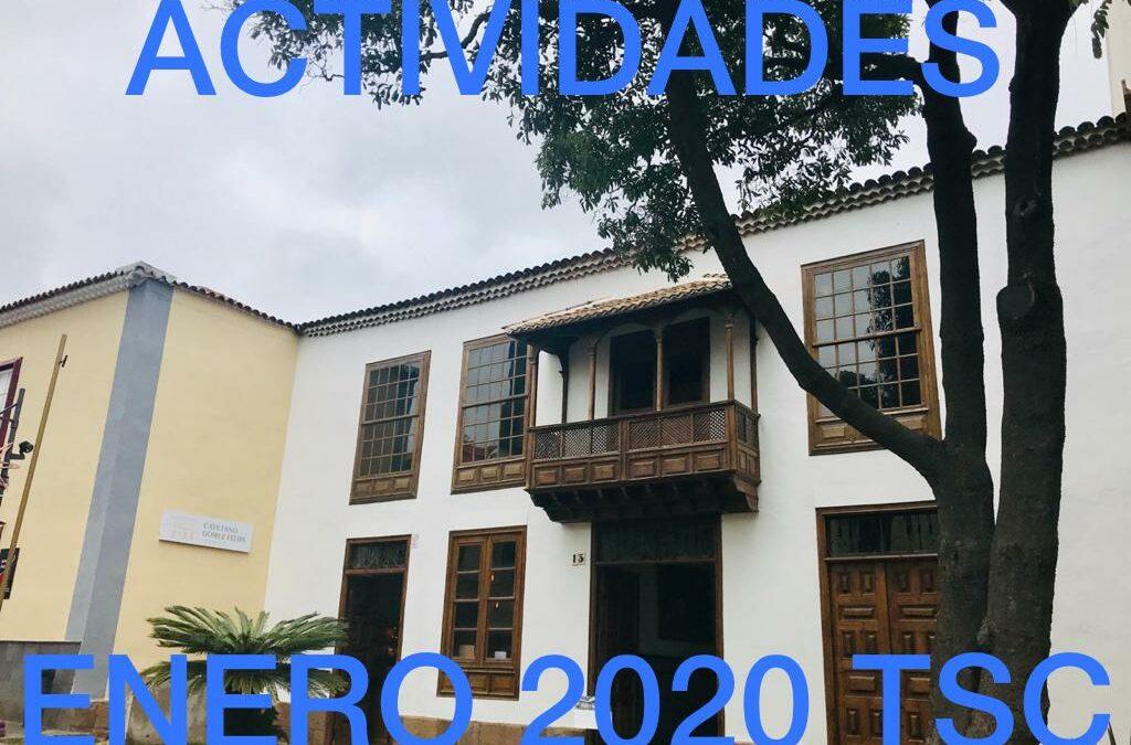 ACTIVIDADES ENERO 2020