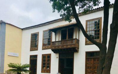 LXXXIX Itinerario Cultural Visita guiada Casa Museo CAYETANO GÓMEZ FELIPE Sábado 18 enero 10h Plaza de La Concepción,13. La Laguna.