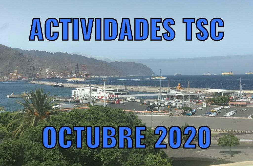 ACTIVIDADES TSC OCTUBRE 2020